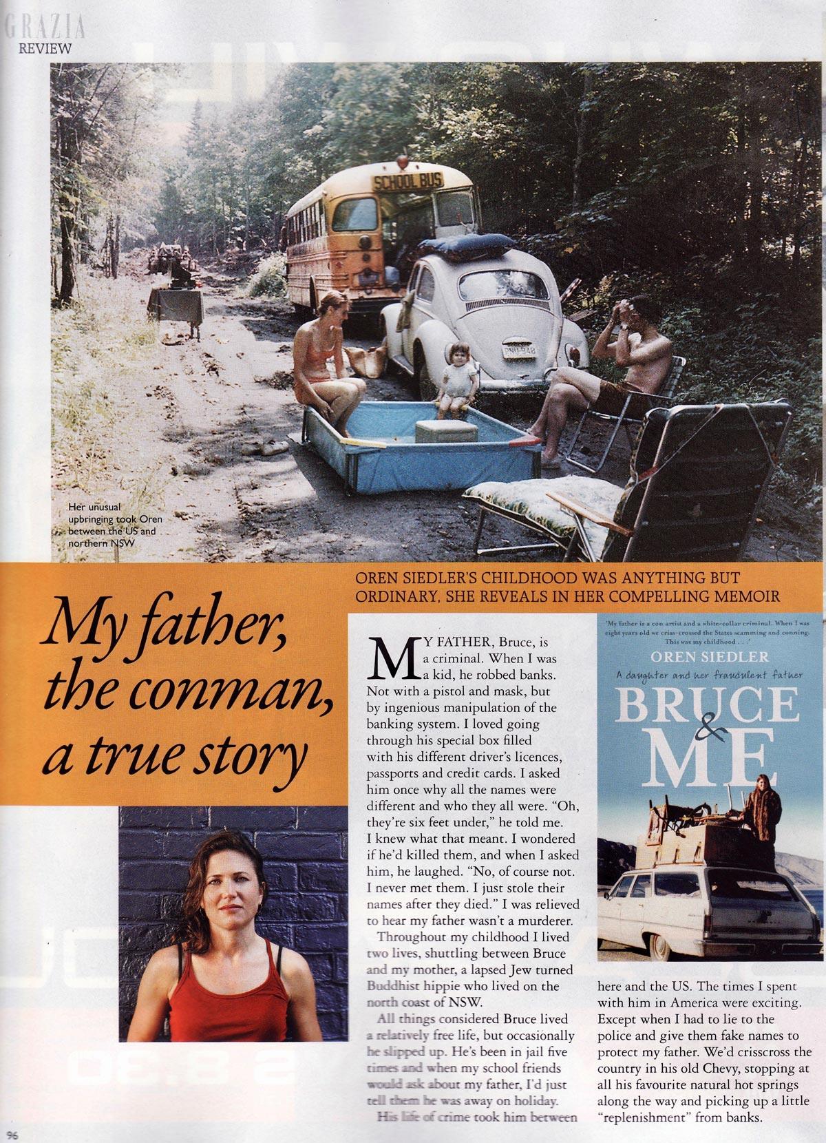 GRAZIA Magazine page 1