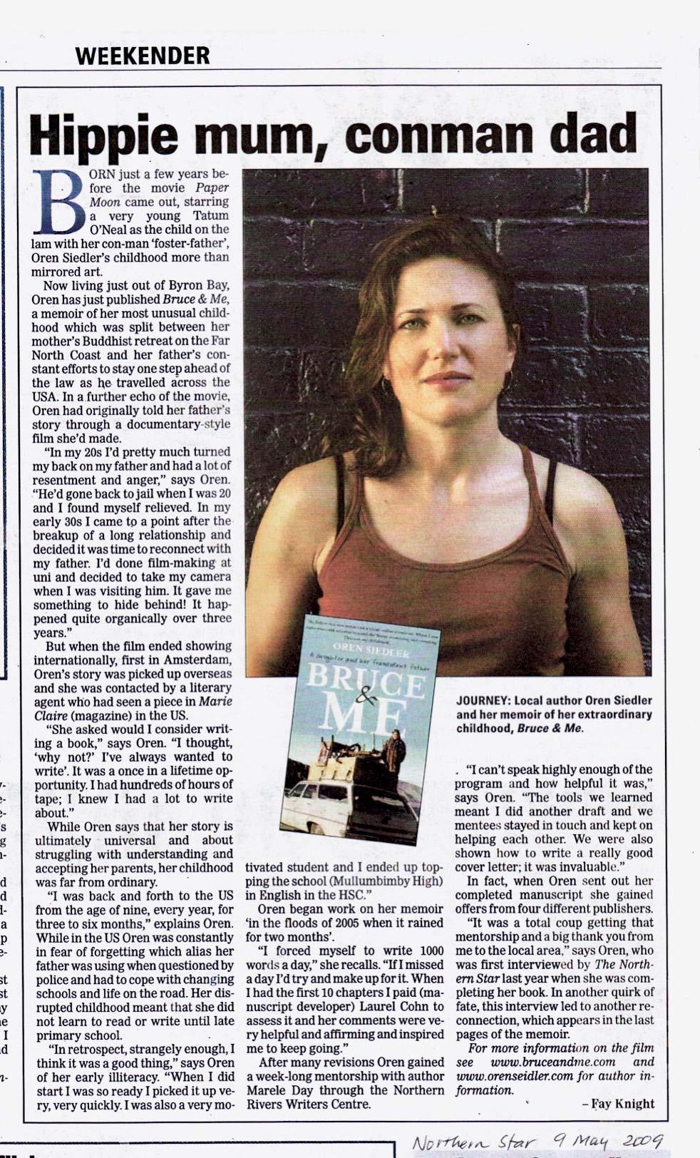 Northern Star Weekender page 1