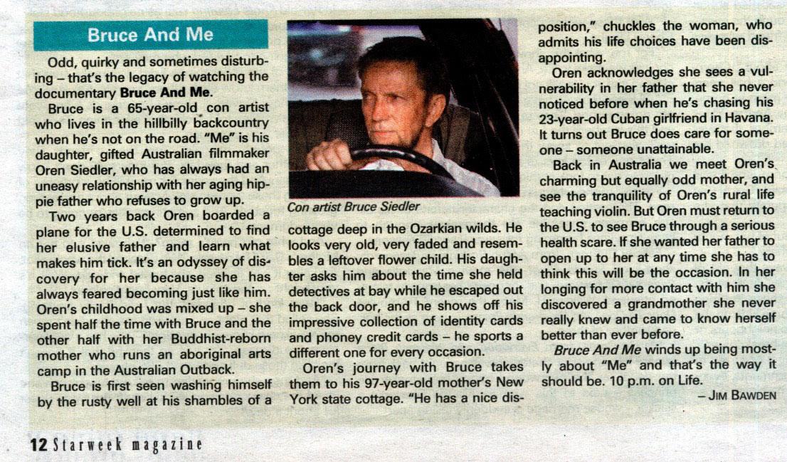 Toronto Starweek Magazine