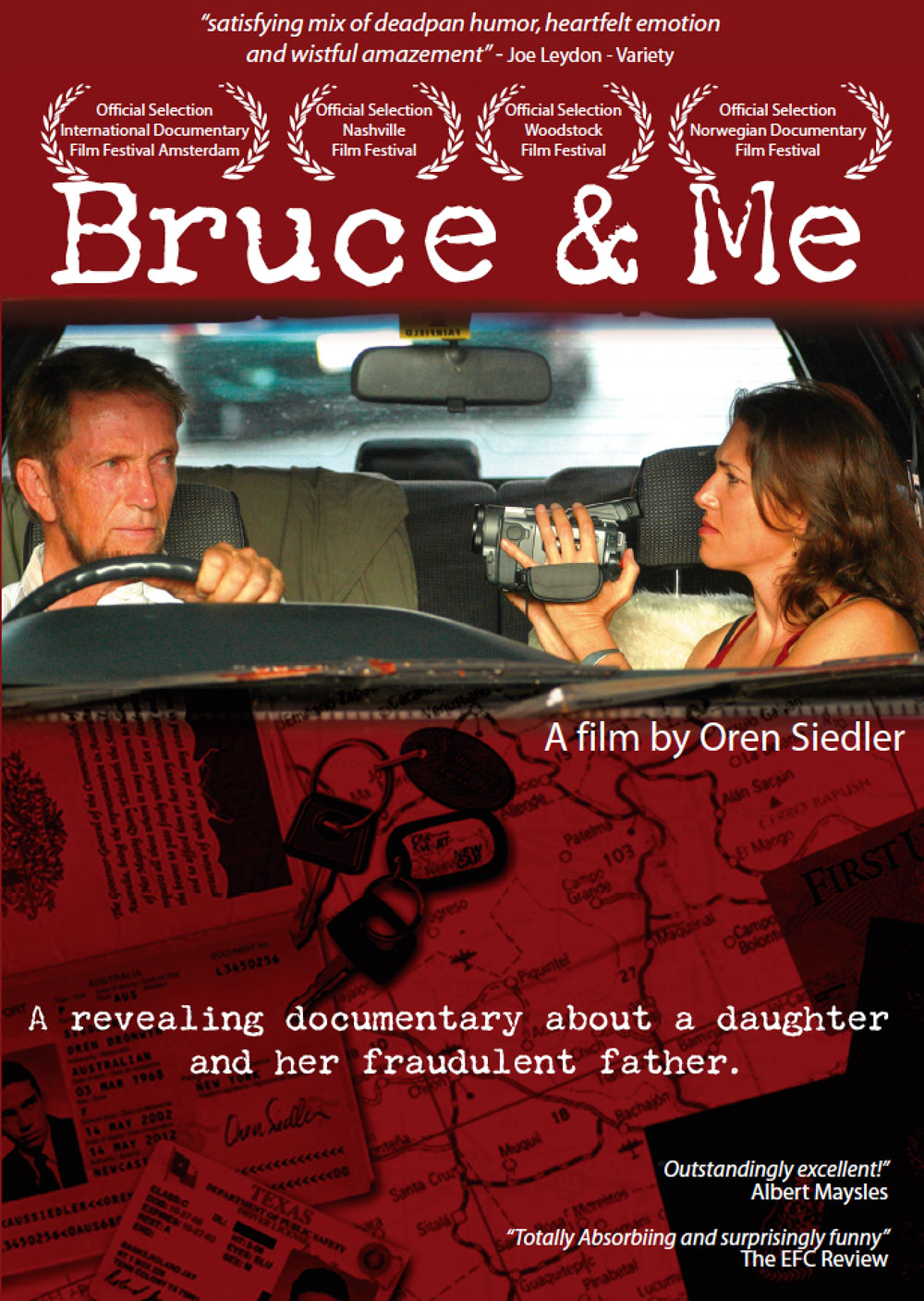 bruce and me poster