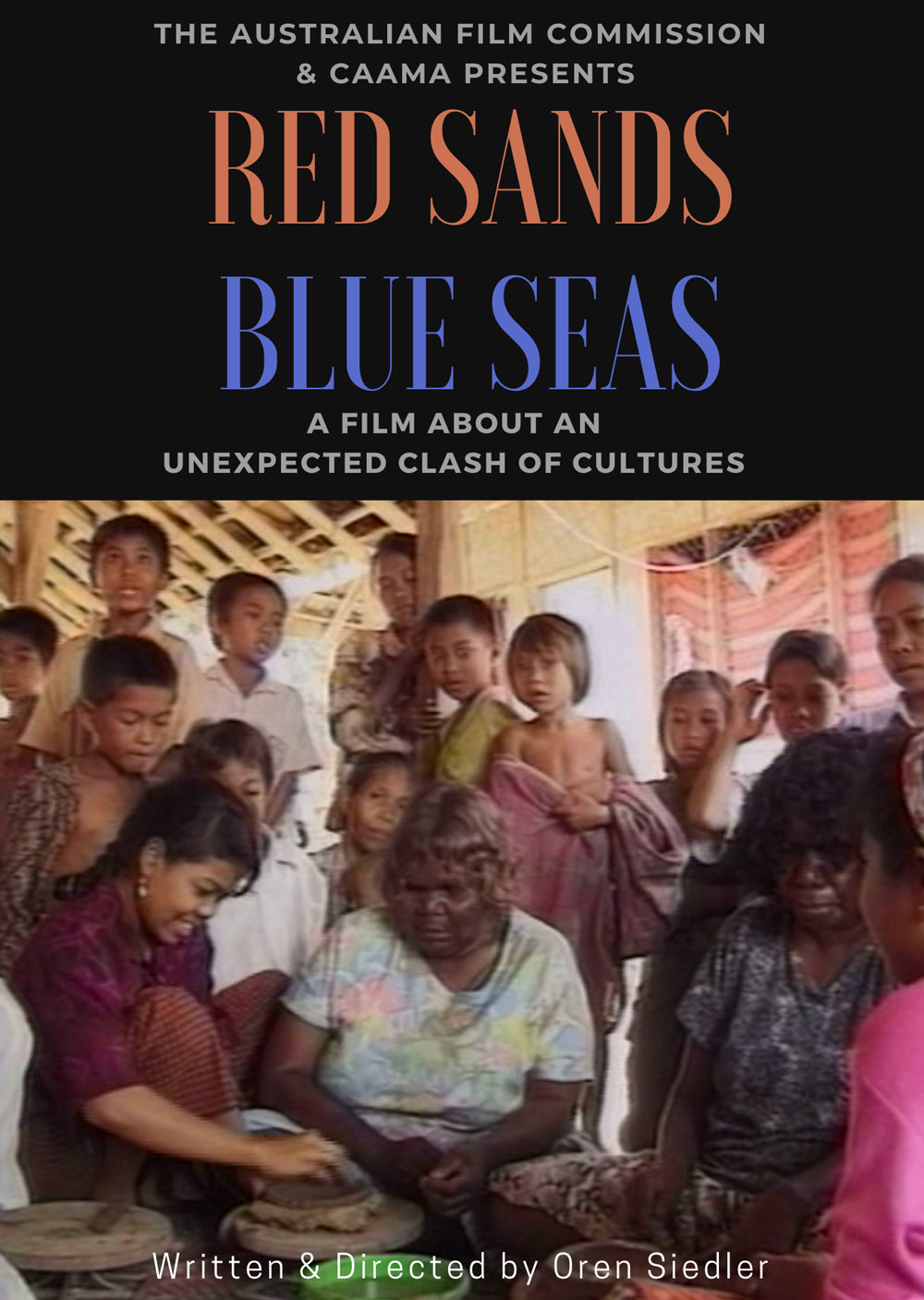 red sands blue seas poster